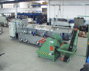 Modell 580 mit Fördereinrichtung